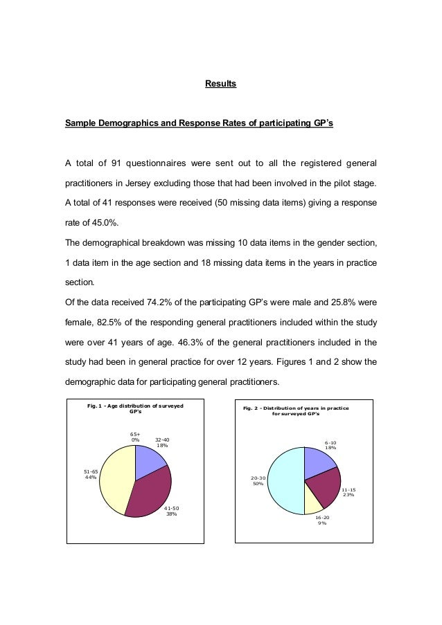 Results thesis