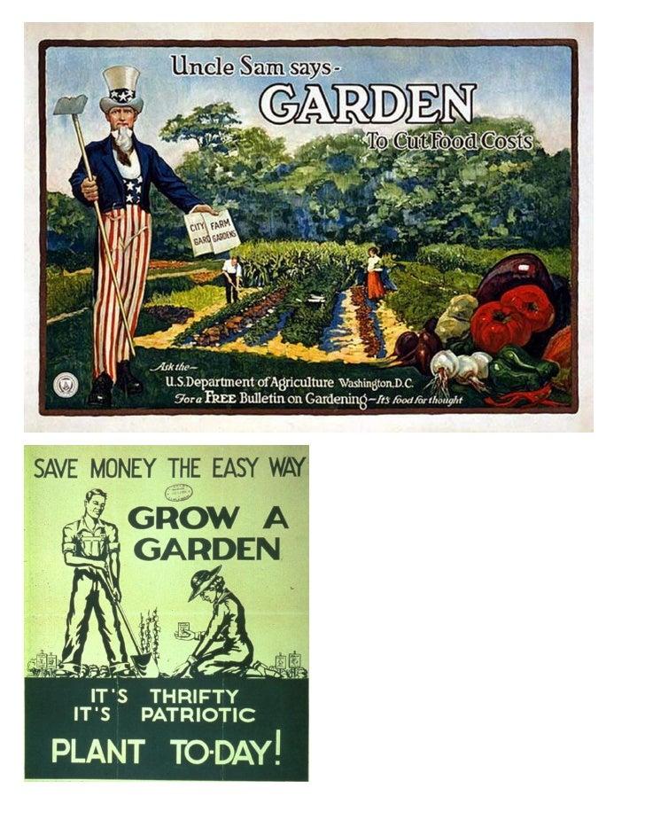 21 free Organic Gardening Posters