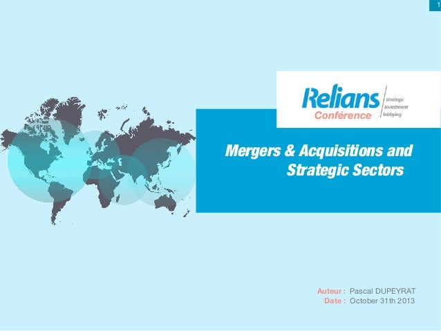 Mergers & acquisitions and strategic sector