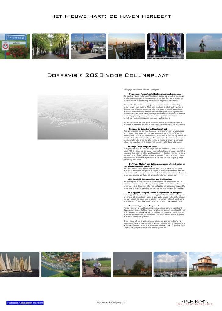 Presentatie Dorpsvisie 2020 Colijnsplaat