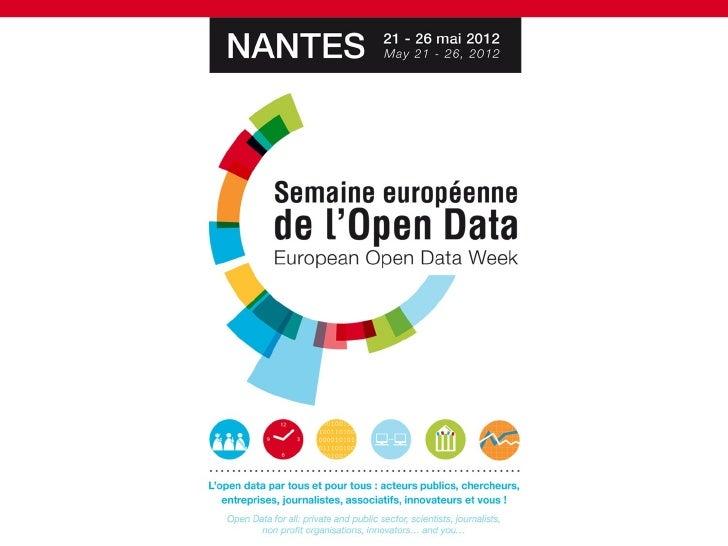 OPEN DATA WEEK // Plénière 2 : Fédérer les acteurs culture/ Tourisme autour de l'Open Data
