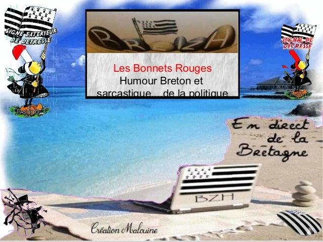 Les Bonnets Rouges Humour Breton et sarcastique....de la politique