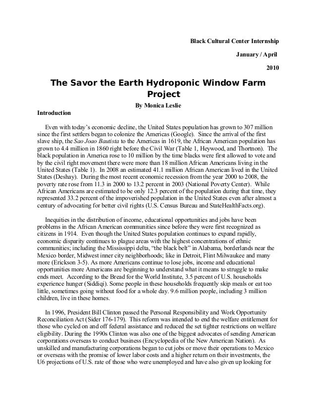 Background Paper | Savor the earth hydroponic window farm project