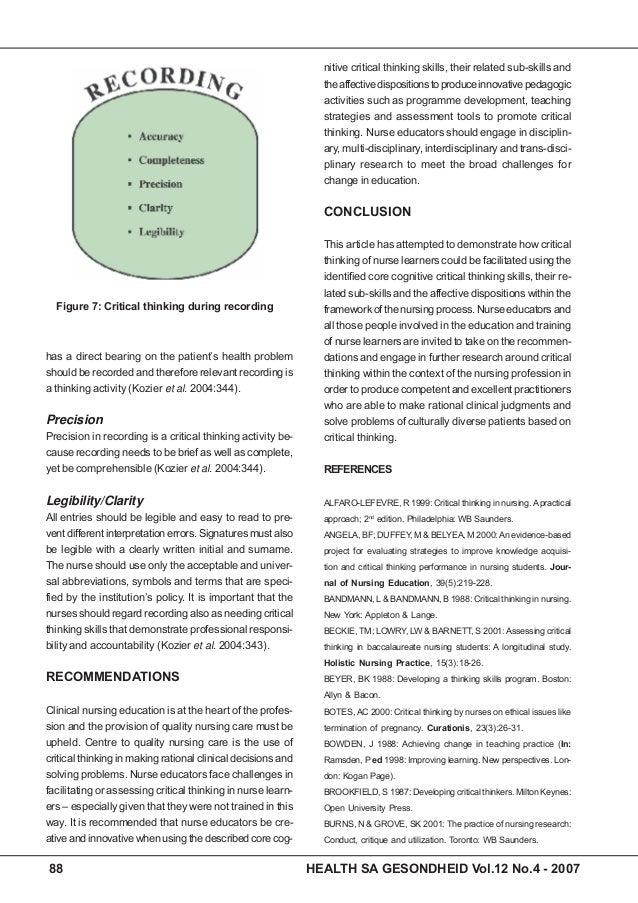 nursing definition essay