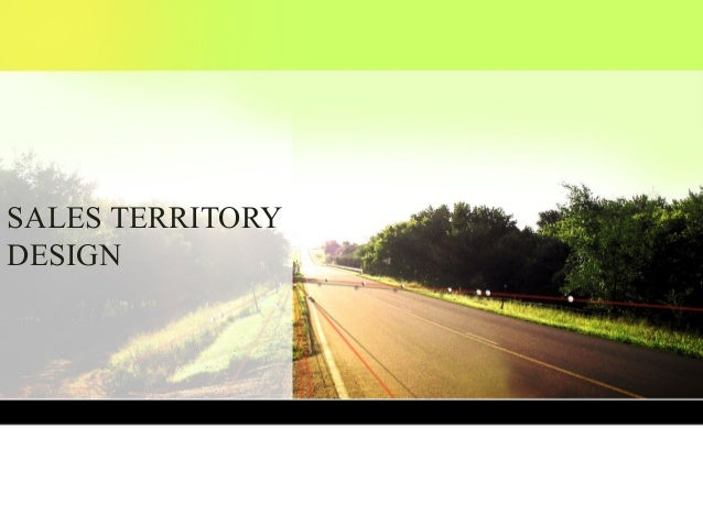 Sales Territory Design: A Systematic Approach
