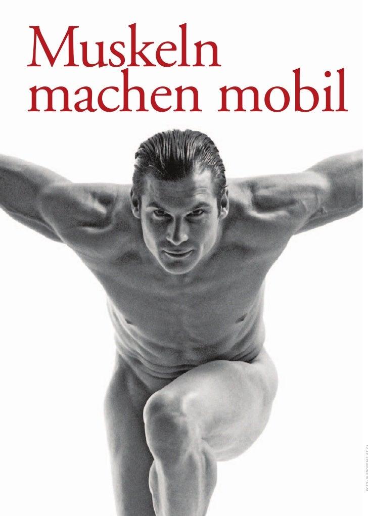 Muskeln machen mobil
