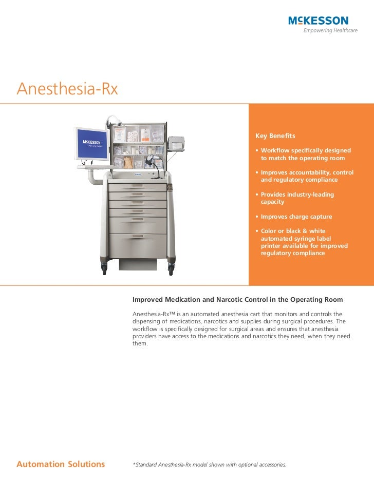 Anesthesia-Rx                                                                        Key Benefits                         ...