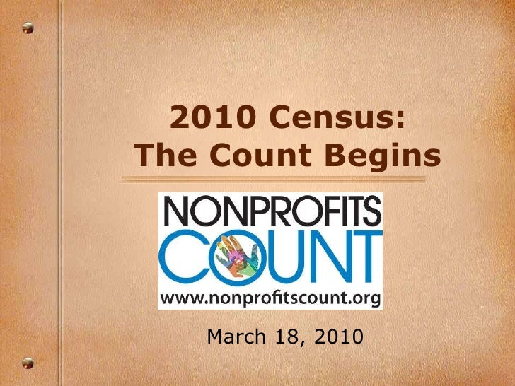 2010 Census: The Count Begins