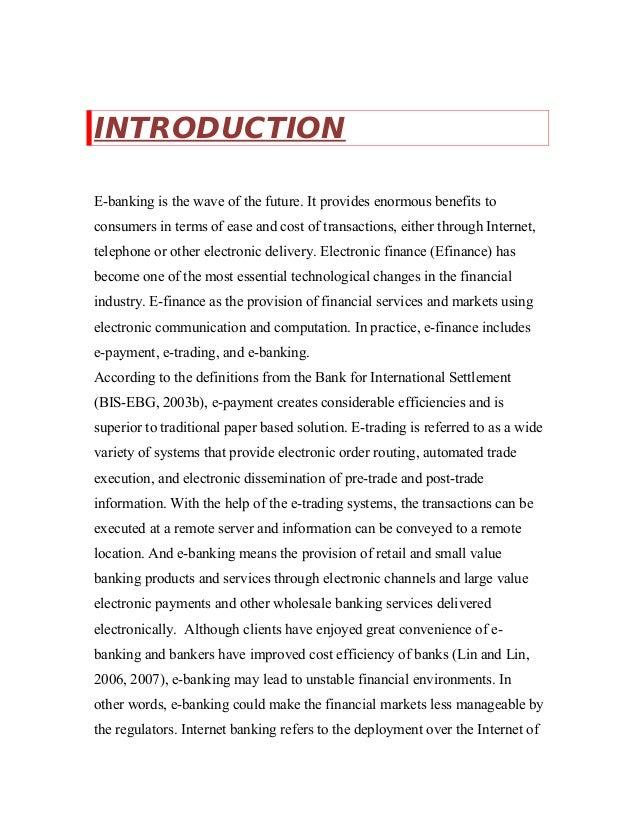 E trading project documentation
