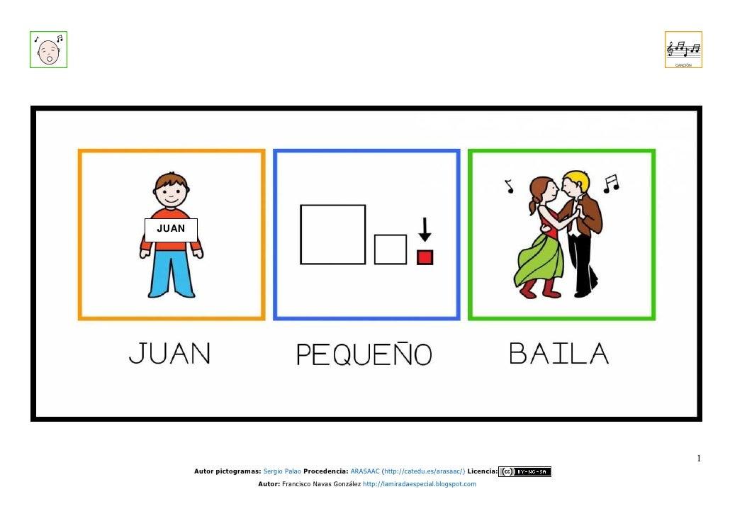 Canción Juan Pequeño Baila