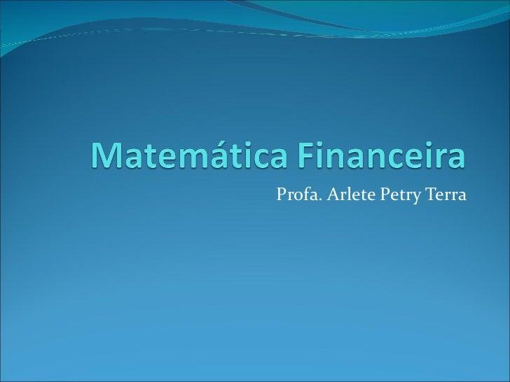 31 exercícios de matemática financeira
