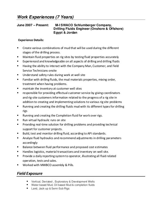 cv  of mina awad  mud engineer
