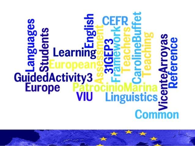 31GEP3_GA3_Common European Framework