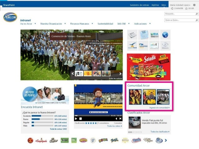 31 intranet homepage design examples with screenshots