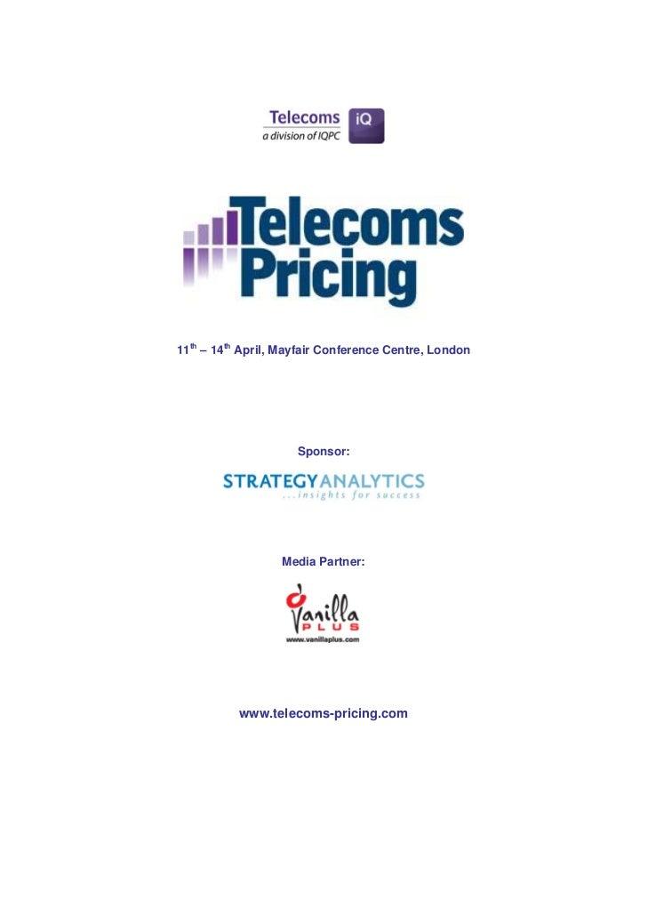 11th – 14th April, Mayfair Conference Centre, London                     Sponsor:                  Media Partner:         ...