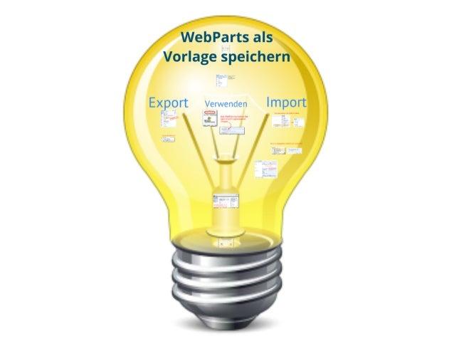 SharePoint Lektion #31: Export und Import von Webparts