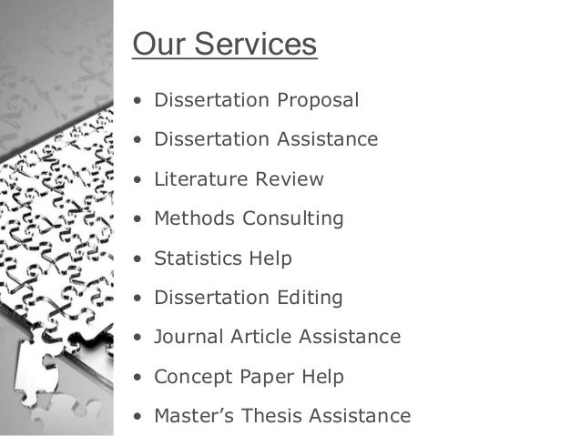 Concept Paper And Dissertation