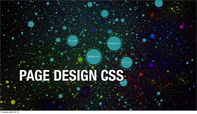 CSS Page Design