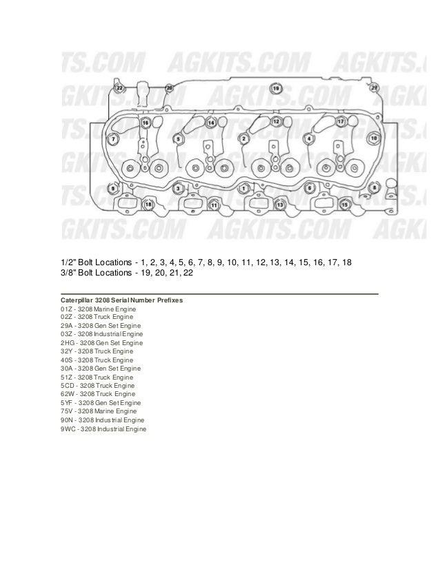 3208 engine information