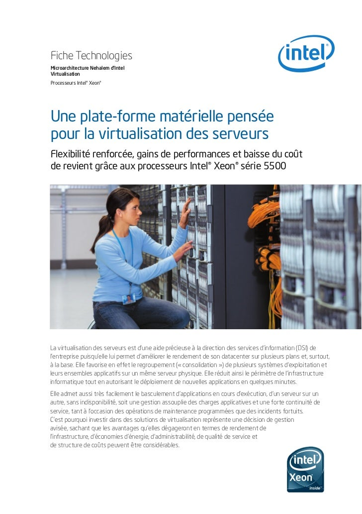 Xeon 5500 series Virtualization Techbrief