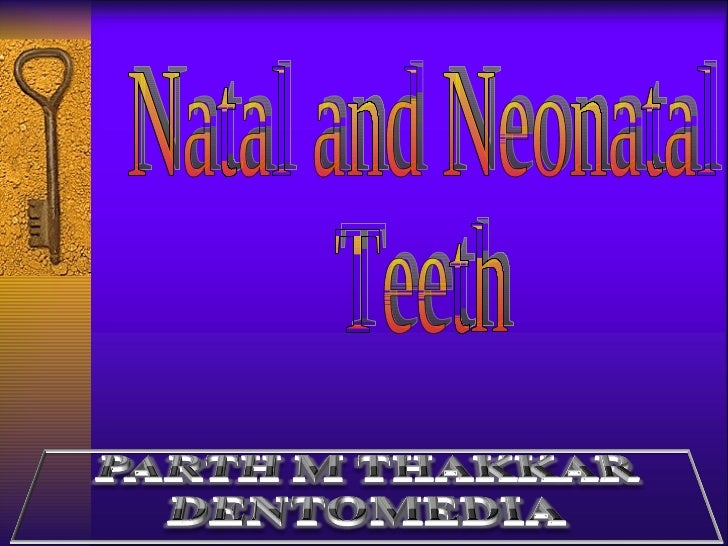 natal neonatal teeth-pedo