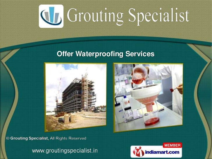 Grouting Specialist   Tamil Nadu  India