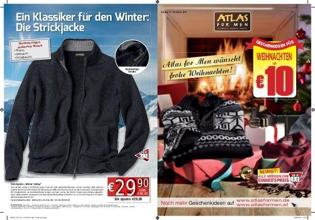 """Noch mehr Geschenkideen auf Strickjacke """"Winter Valley"""" Eine wirklich warme und stilechte Jacke. Dank der glatt gestrickte..."""