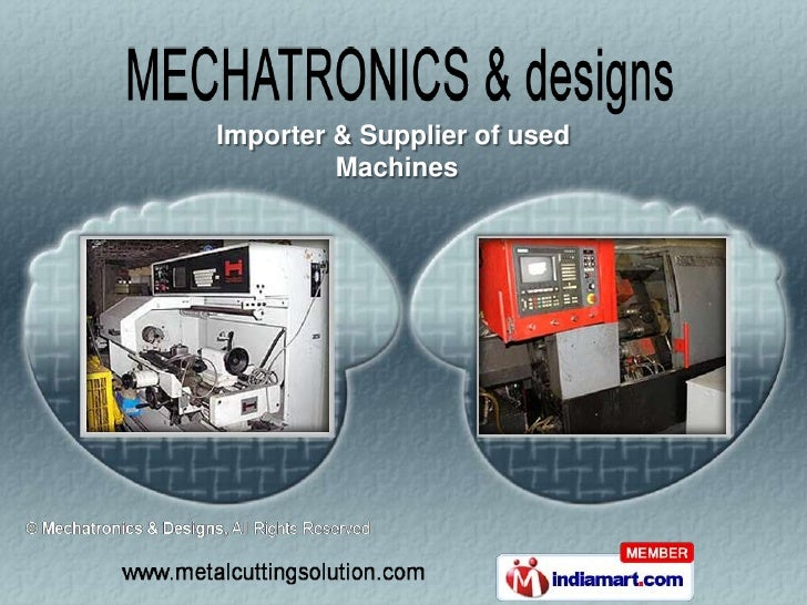 Importer & Supplier of used         Machines
