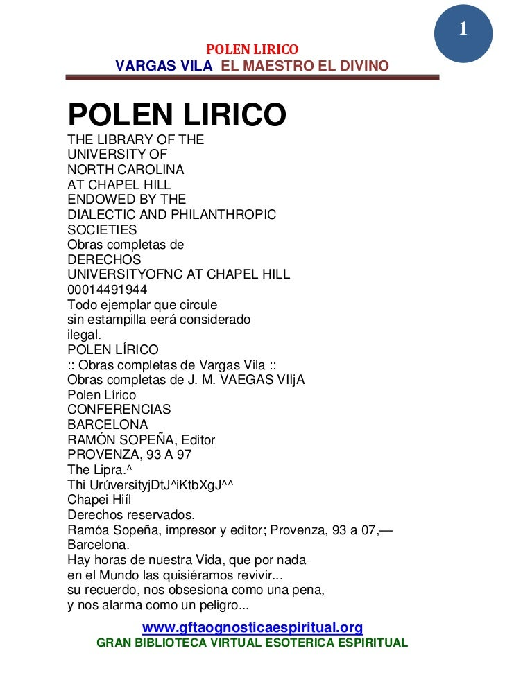 32 61 polen lirico vargas vila www.gftaognosticaespiritual.org