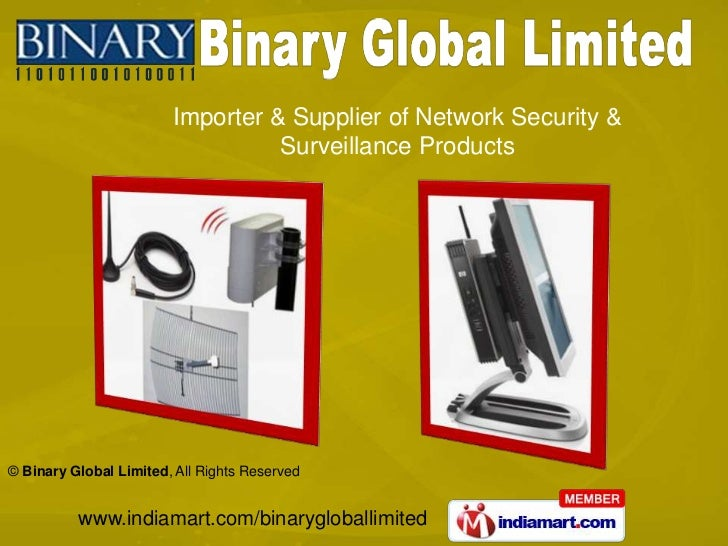 Importer & Supplier of Network Security & <br />Surveillance Products<br />