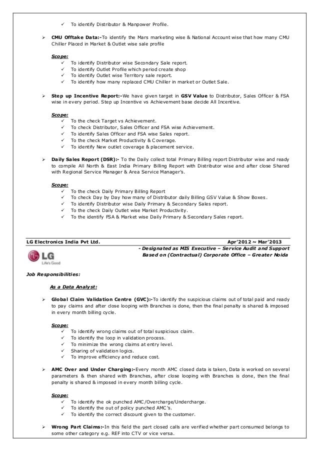 mis manager resume enchanting resume format for supply