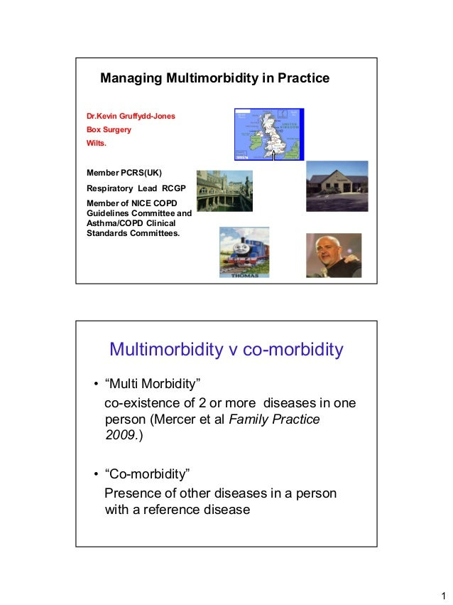 Managing Multimorbidity in PracticeDr.Kevin Gruffydd-Jones    TAYSIDE CENTREBox SurgeryWilts.                             ...