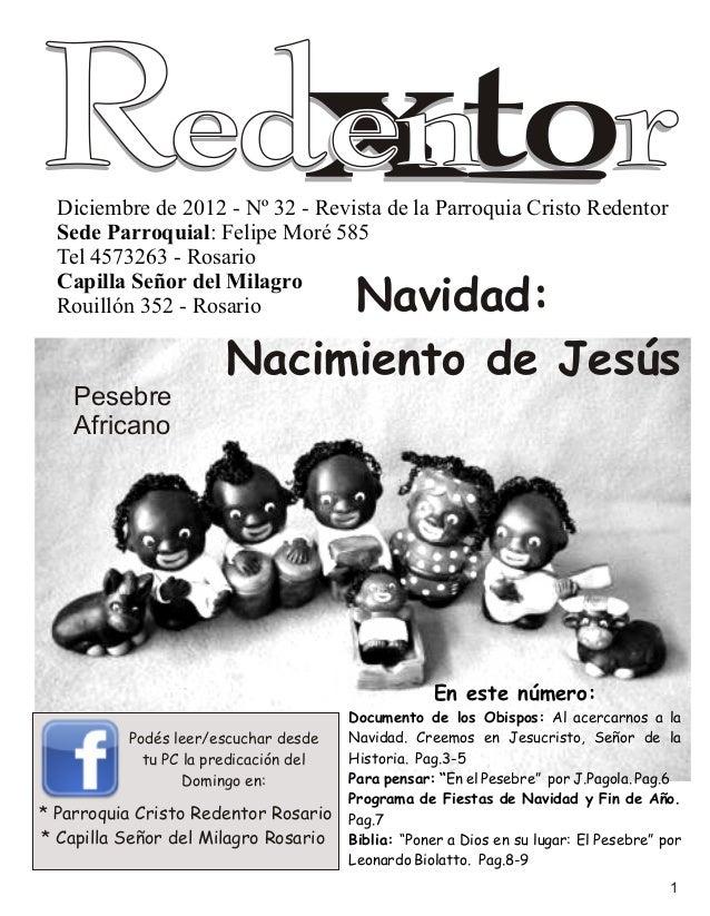 Boletín Parroquial Nº 32 Navidad