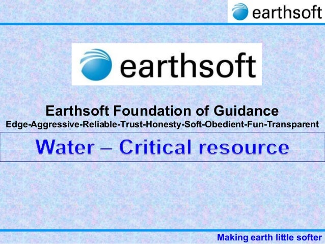 33 1-earthsoft-water - critical resource-final
