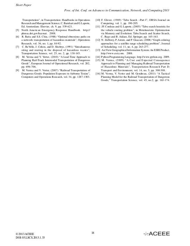 33A Meta-heuristic Approach to Rail-Truck Intermodal Transportation o�