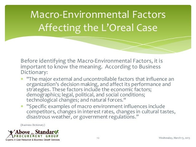 environment factors affecting cosmetic industry Retail economics/revo outlook for uk retail 2017  uk retail industry outlook executive  the political and economic environment has changed markedly over the.