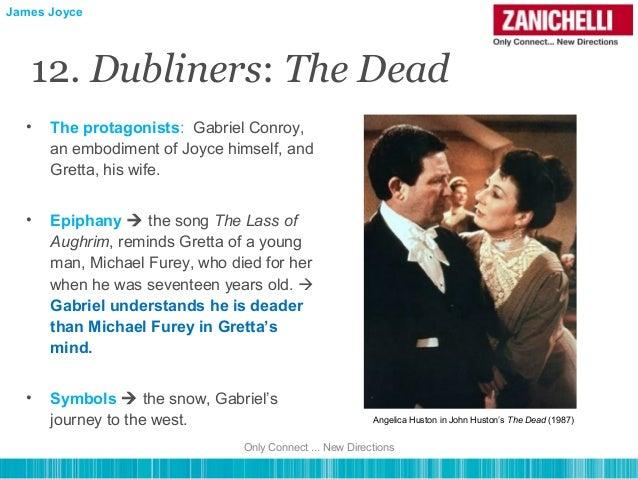 a comparison of james joyces dubliners and the dead