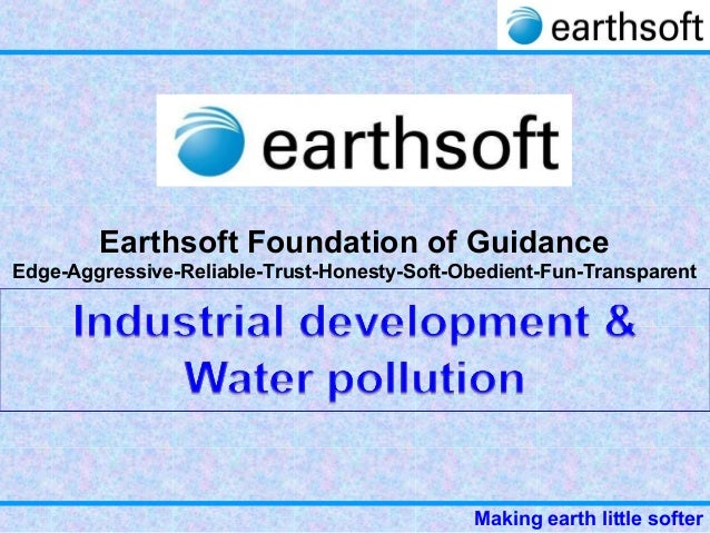 33 part 4-earthsoft-water - pollution-industrial issue