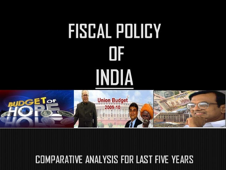Fiscal policy refers to the overall effect of the  budget outcome on economic activity. The idea of using fiscal policy to...