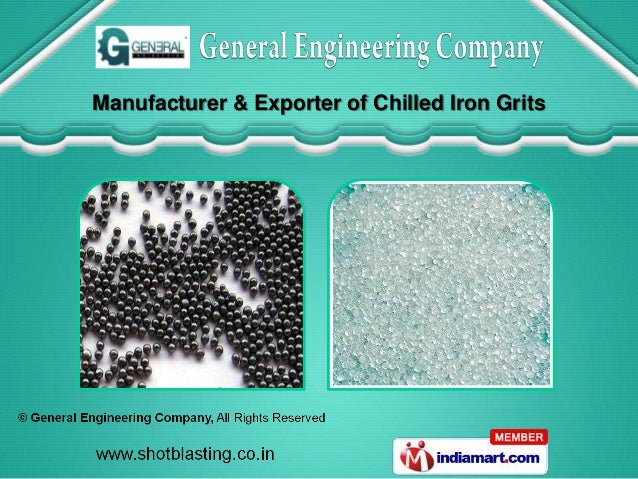 Manufacturer & Exporter of Chilled Iron Grits