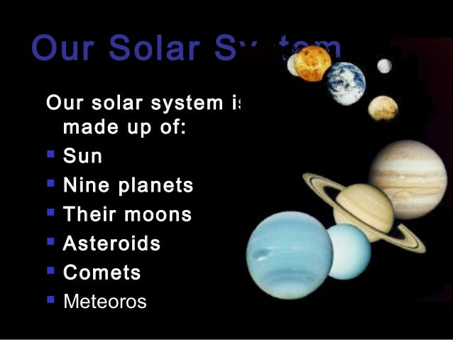 our solar syste...