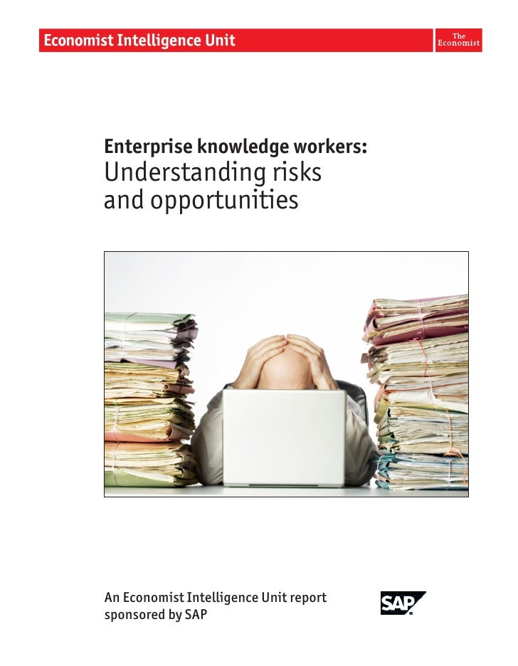 Enterprise Knowledge Workers: Understanding Risks and Opportunities