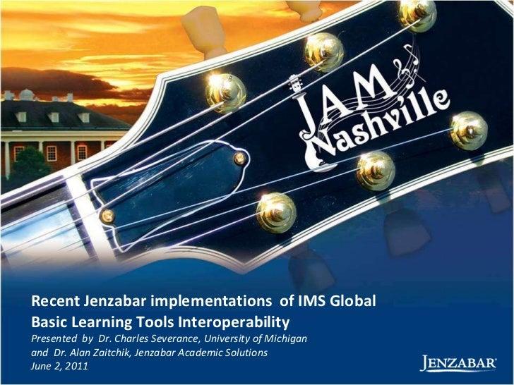 Jenzabar IMS Global Updates