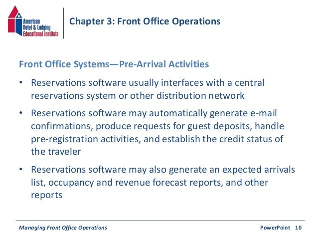 front office operations Find and compare hospitality property management software  all front- and back-office operations to improve  and back-office operations by.
