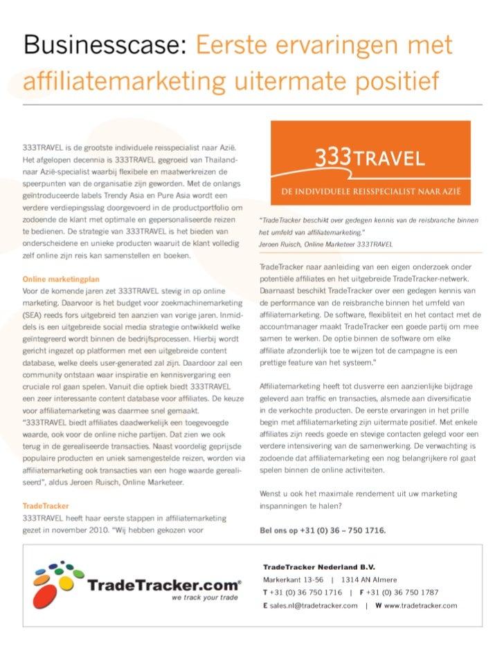 affiliate marketing, 333 travel
