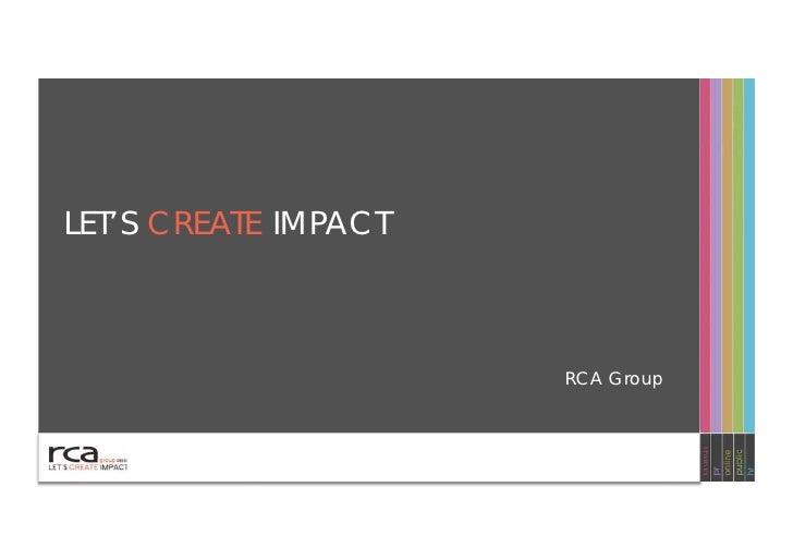 RCA Group