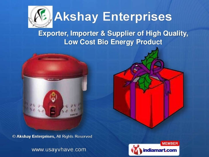 Exporter, Importer & Supplier of High Quality,       Low Cost Bio Energy Product