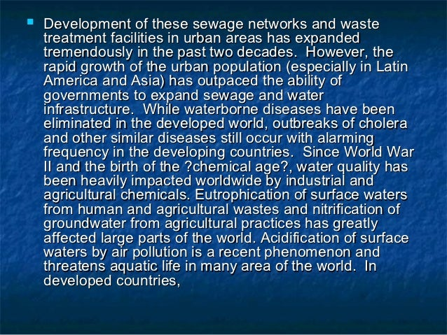 water pollution in india essay in english Water pollution needs to be stopped pollution of lakes rivers, streams, and oceans has been killing land and water animals for years polluting water is a.