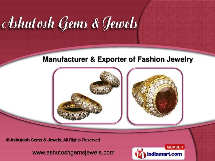 Manufacturer & Exporter of Fashion Jewelry