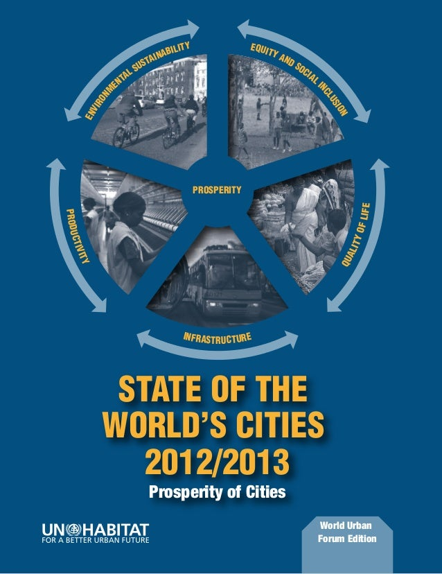 STATE OF THE                                           WORLD'S CITIES                                                     ...